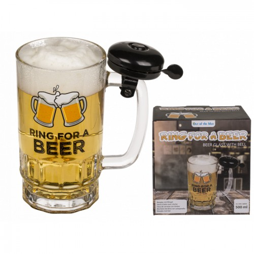 """Alaus bokalas """"Ring for a beer"""""""